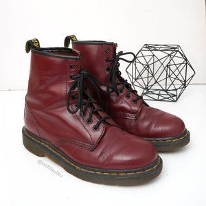Dr. Martens 1460 Cherry Red Smooth 1460 Boots